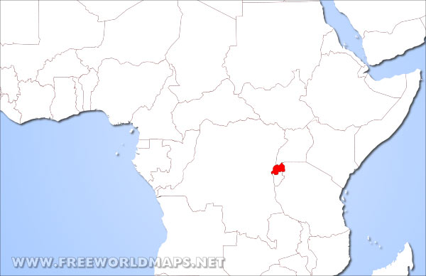 Where Is Rwanda Located On The World Map