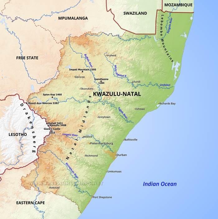 Recent KwaZulu-Natal contacts