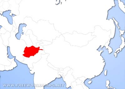 Afghanistan physical map afghanistan physical features afghanistan location map gumiabroncs Gallery
