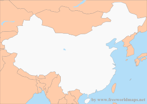Free PDF Maps Of China - Us china map