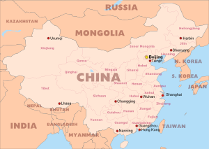 graphic relating to Printable China Map known as Absolutely free PDF maps of China