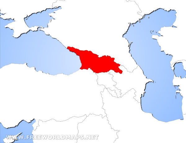 Where is georgia located on the world map georgia location in asia gumiabroncs Choice Image