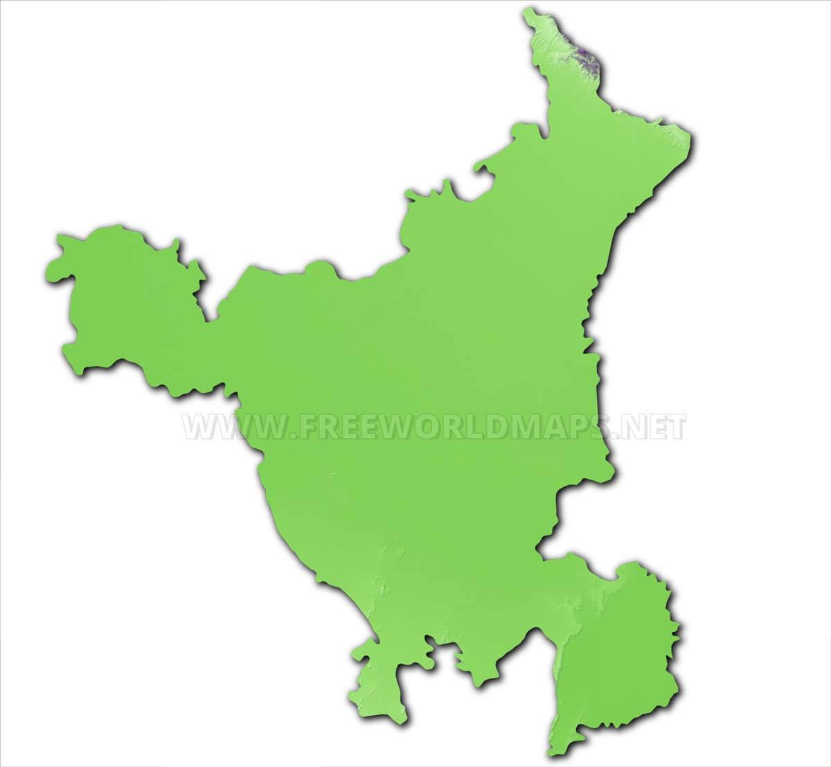Haryana Maps