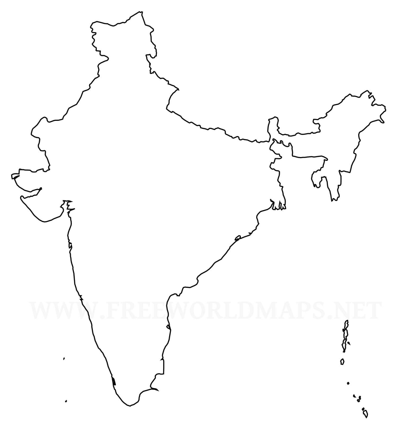 Indiaoutlinemapjpg Decline Of European - Norway map outline