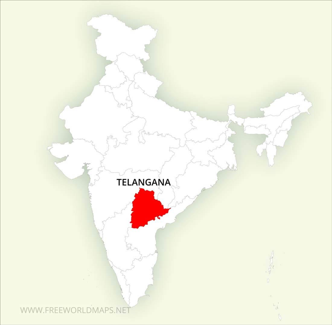 Telangana Maps