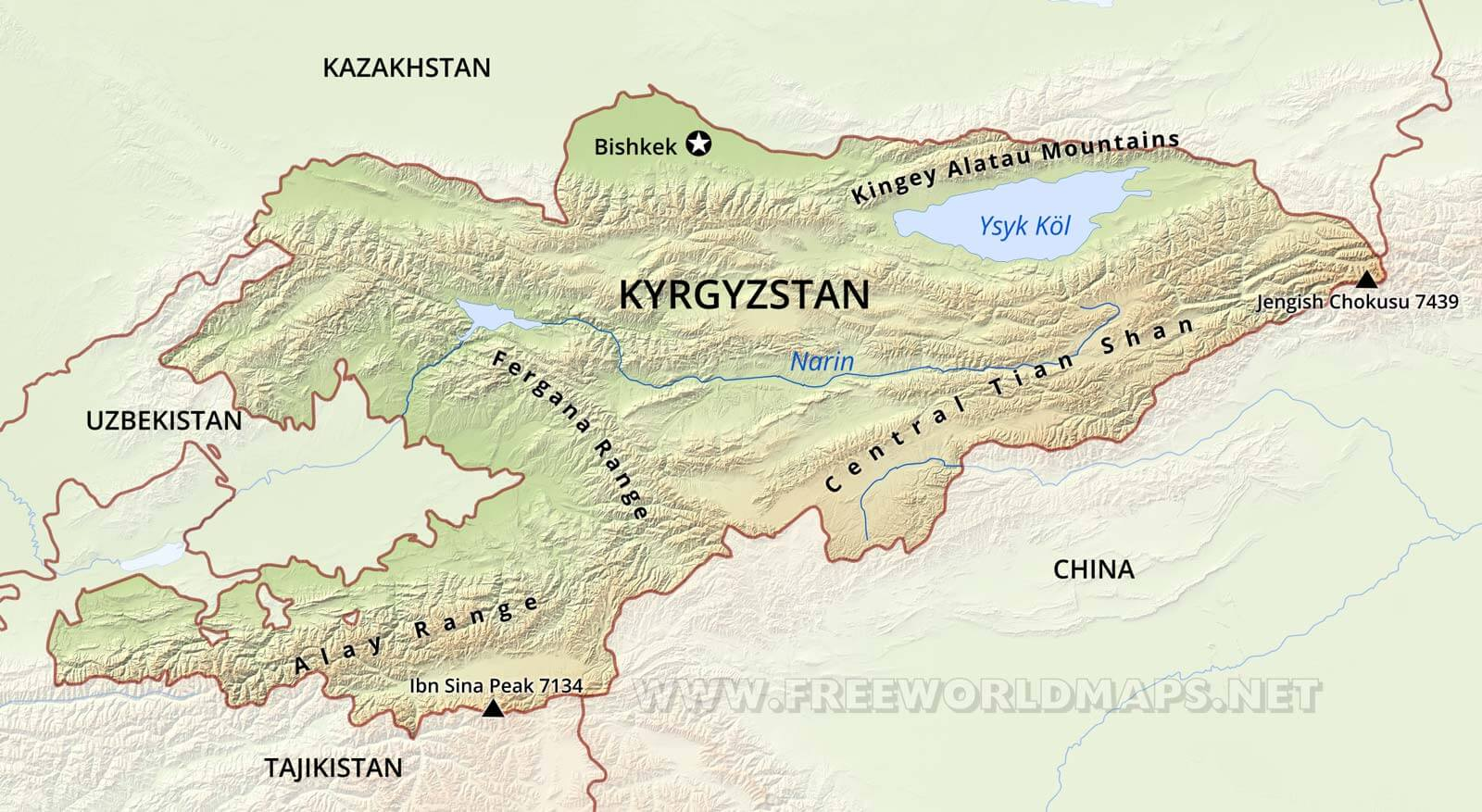 Pamir Mountains World Map | www.pixshark.com - Images ...