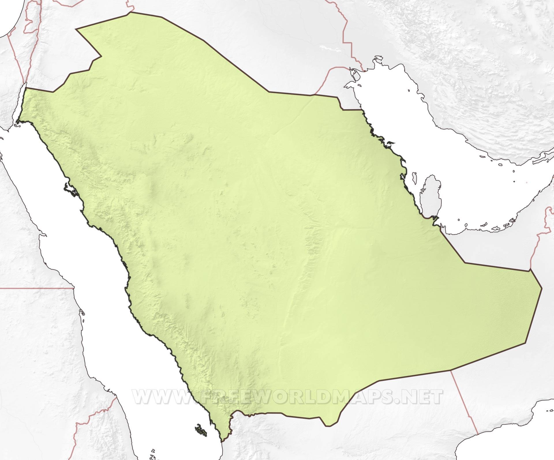 Saudi Arabia Maps