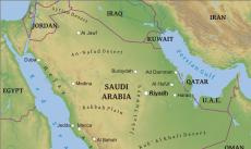 Where Is Saudi Arabia Located On The World Map