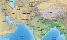 Where Is South Asia Located On The World Map - South asia map