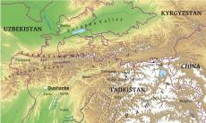 Where is Tajikistan located on the World map