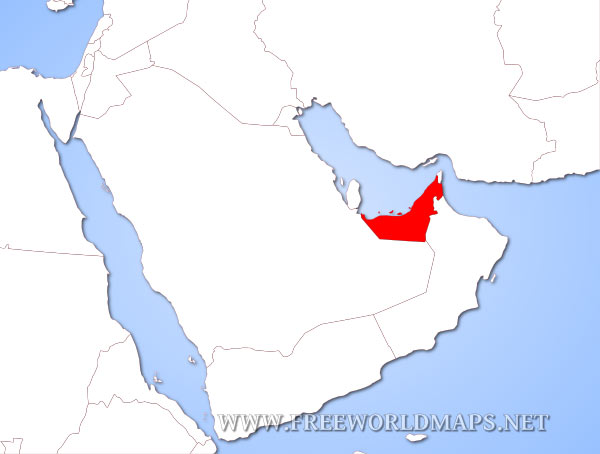 Where is the united arab emirates located on the world map the united arab emirates location in asia gumiabroncs Choice Image