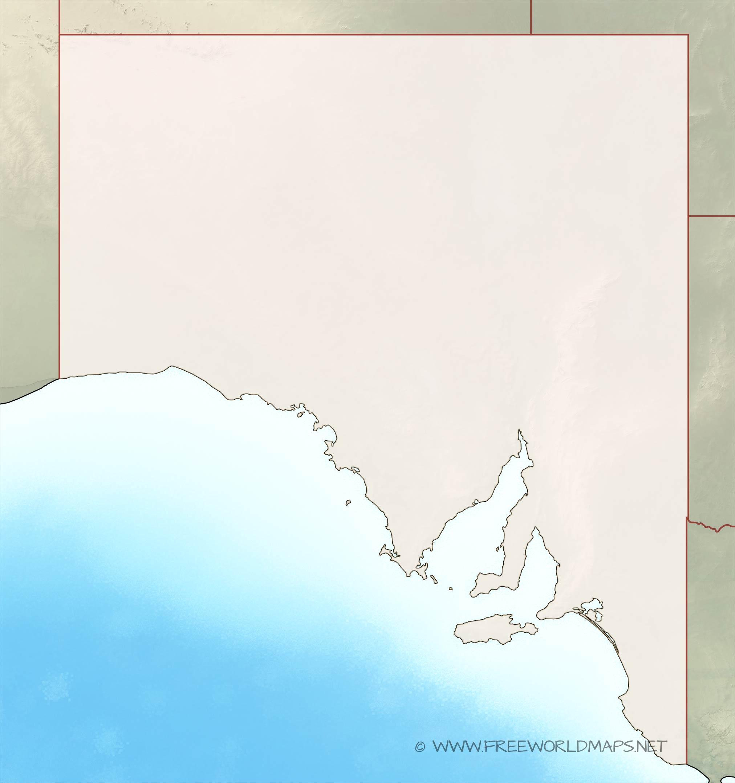 South Australia maps