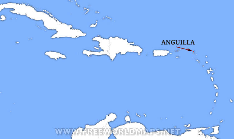 Where is Anguilla located on the World map