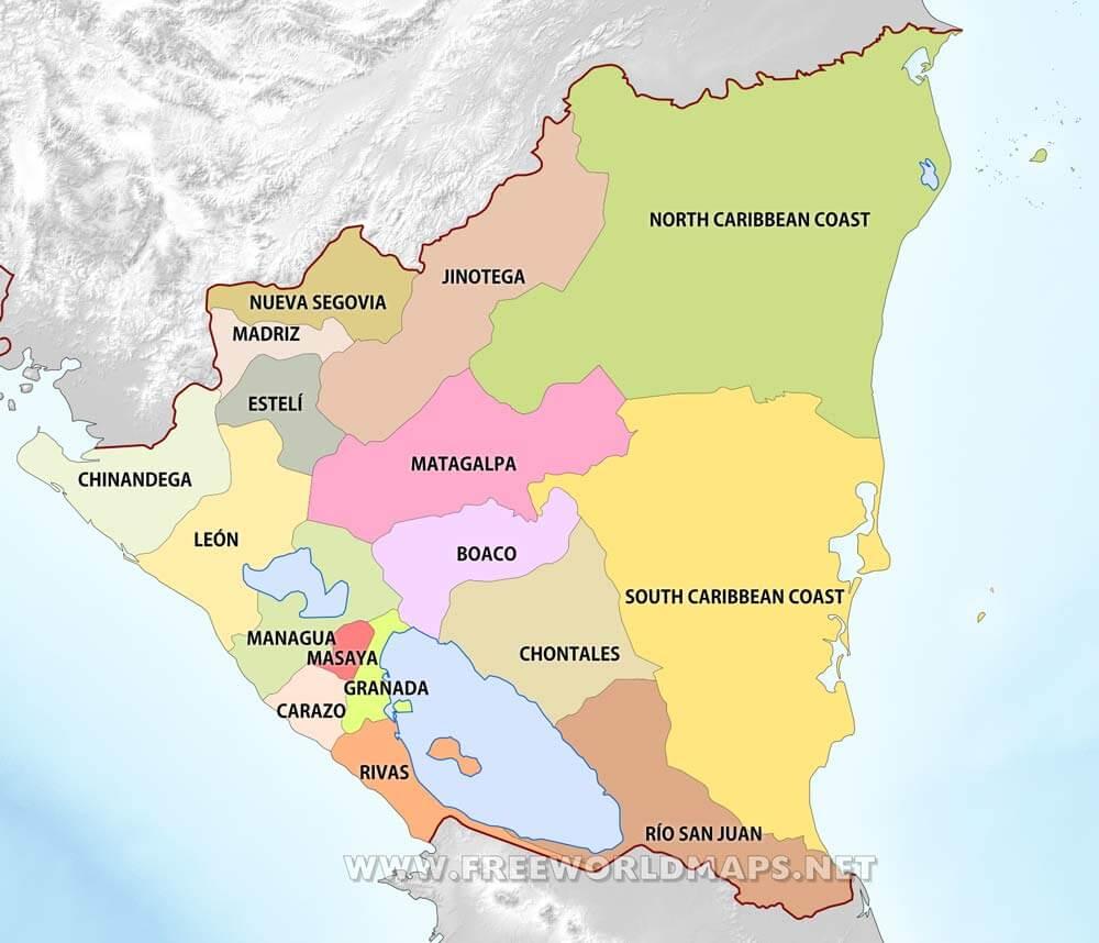 Nicaragua Maps