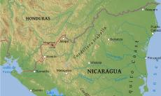 Where is Nicaragua located on the World map