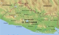 Where is salvador located on the world map physical map of salvador gumiabroncs Images