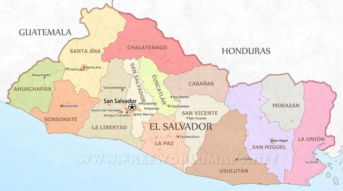 Salvador Maps Freeworldmaps Net