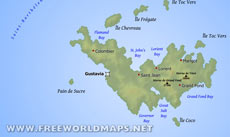 Where is saint barthlemy located on the world map saint barthlemy map publicscrutiny Choice Image