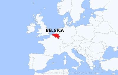 Mapa de b lgica for Donde se encuentra el marmol