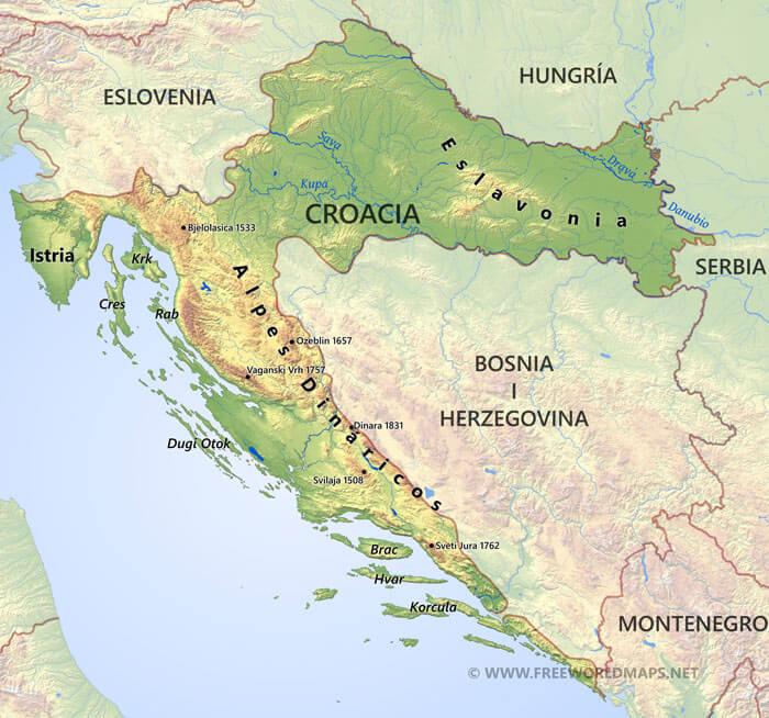 Image Result For Donde Esta Croacia