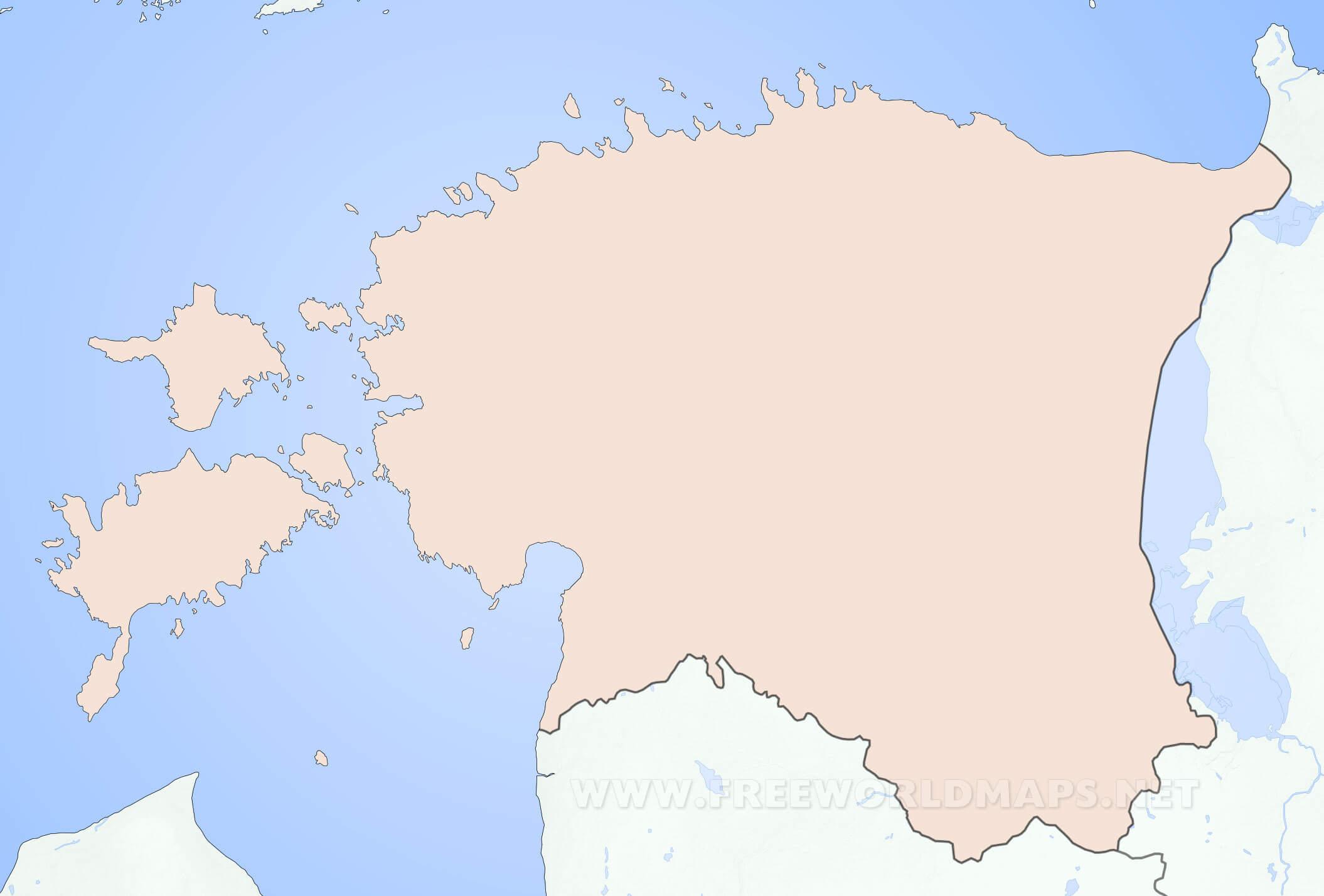 Mapa de estonia estonia mapa mudo gumiabroncs Gallery