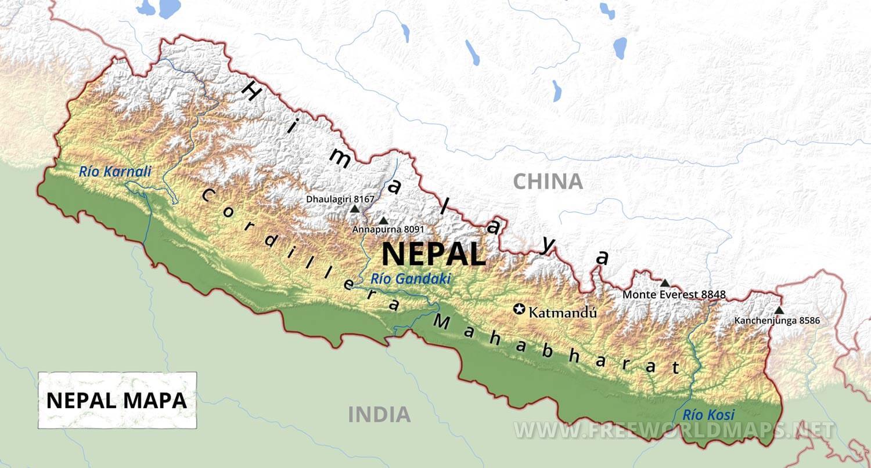88 ideas Mapa De Nepal on emergingartspdxcom