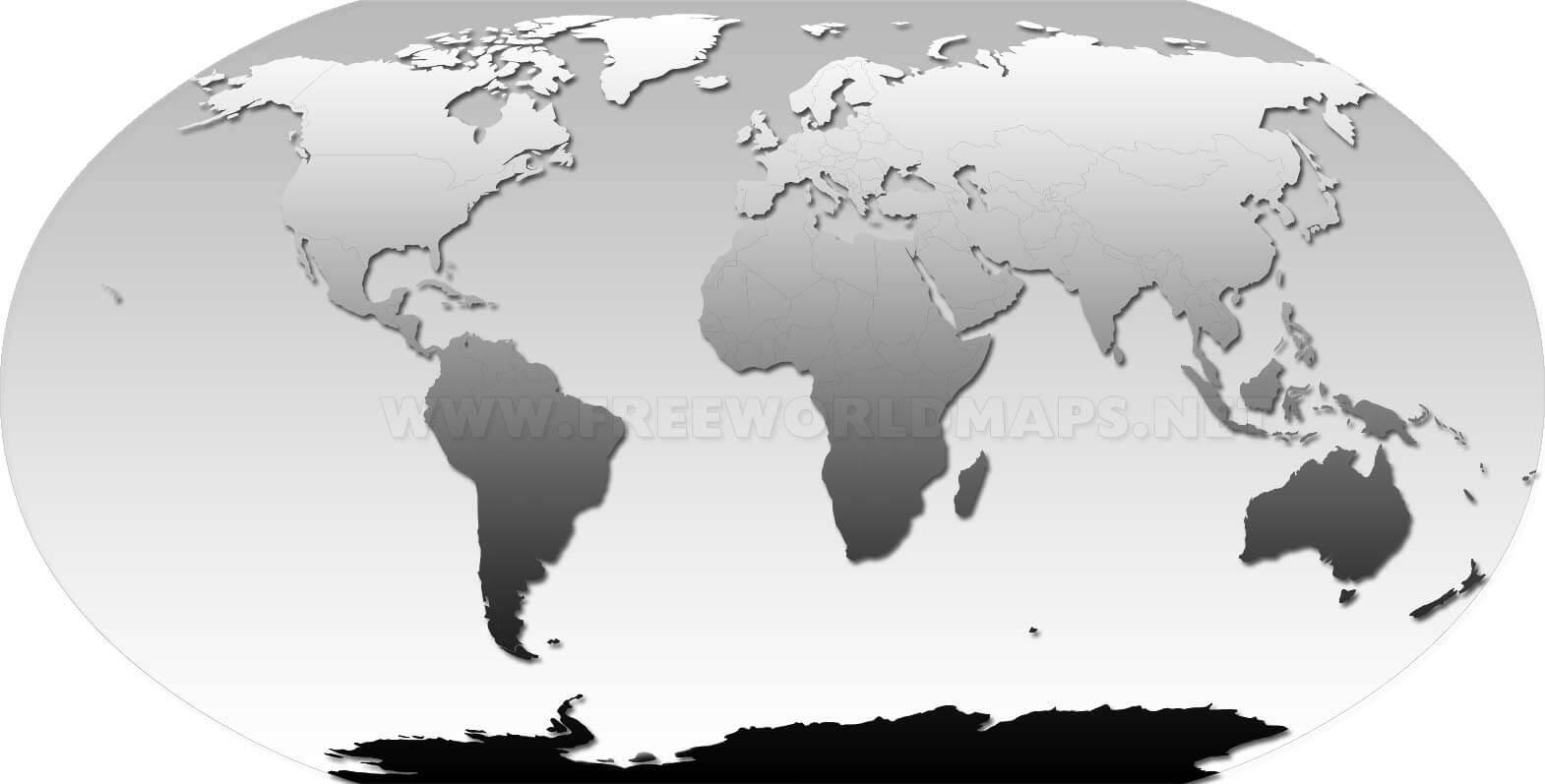 Pases del mundo  Mapa en espaol