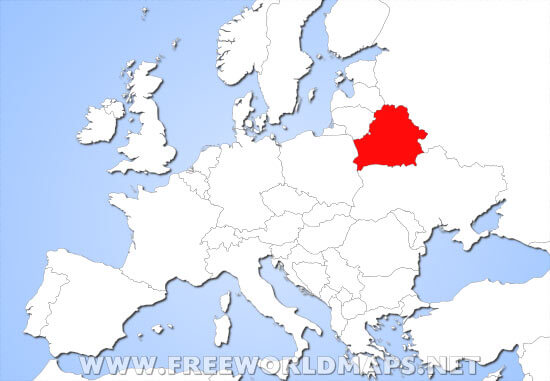 Where Is Belarus Located On The World Map - Where is belarus