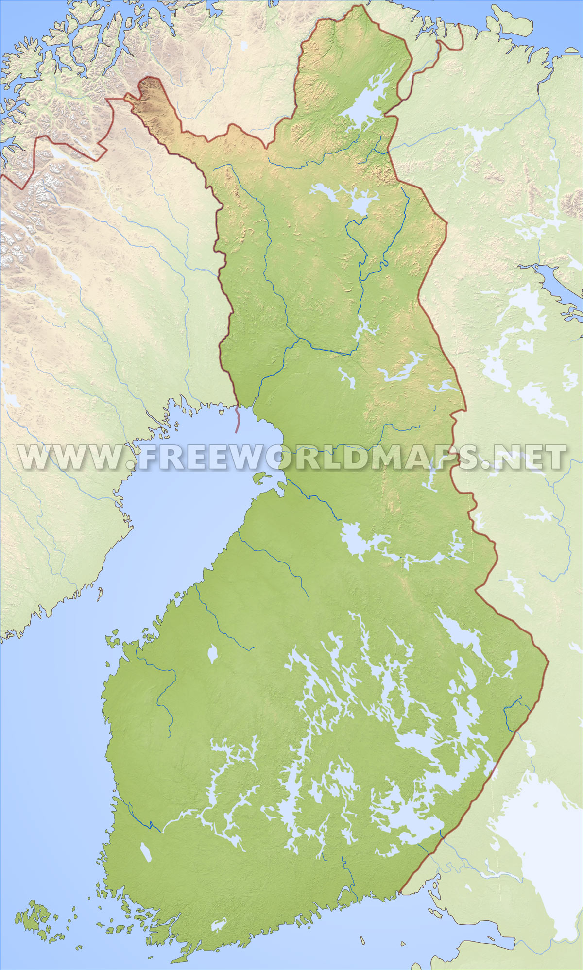 finland finland hd map heres the middle