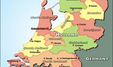 Where Is Holland Located On The World Map