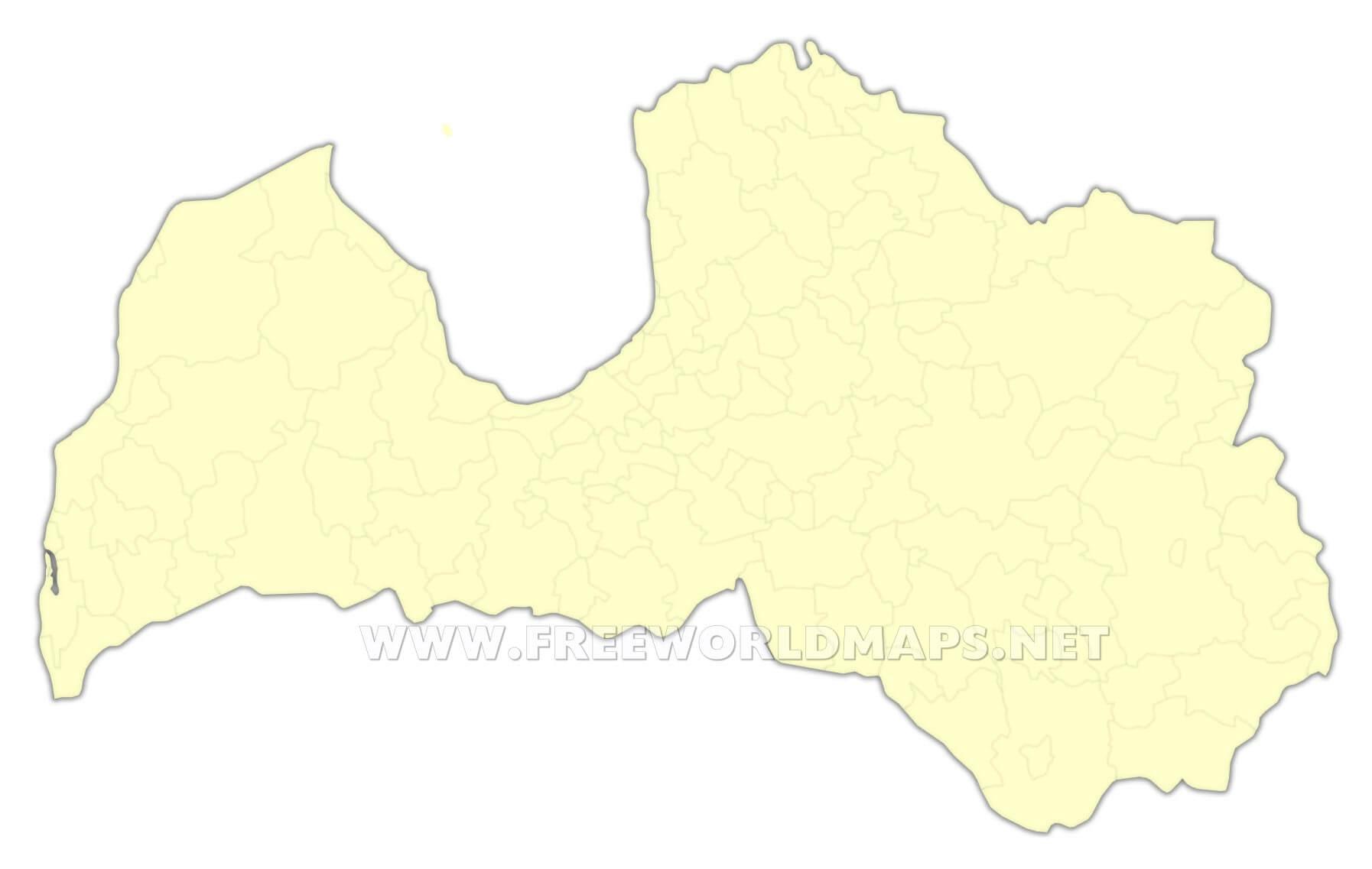 Latvia maps by freeworldmaps latvia cities latvia blank map publicscrutiny Gallery