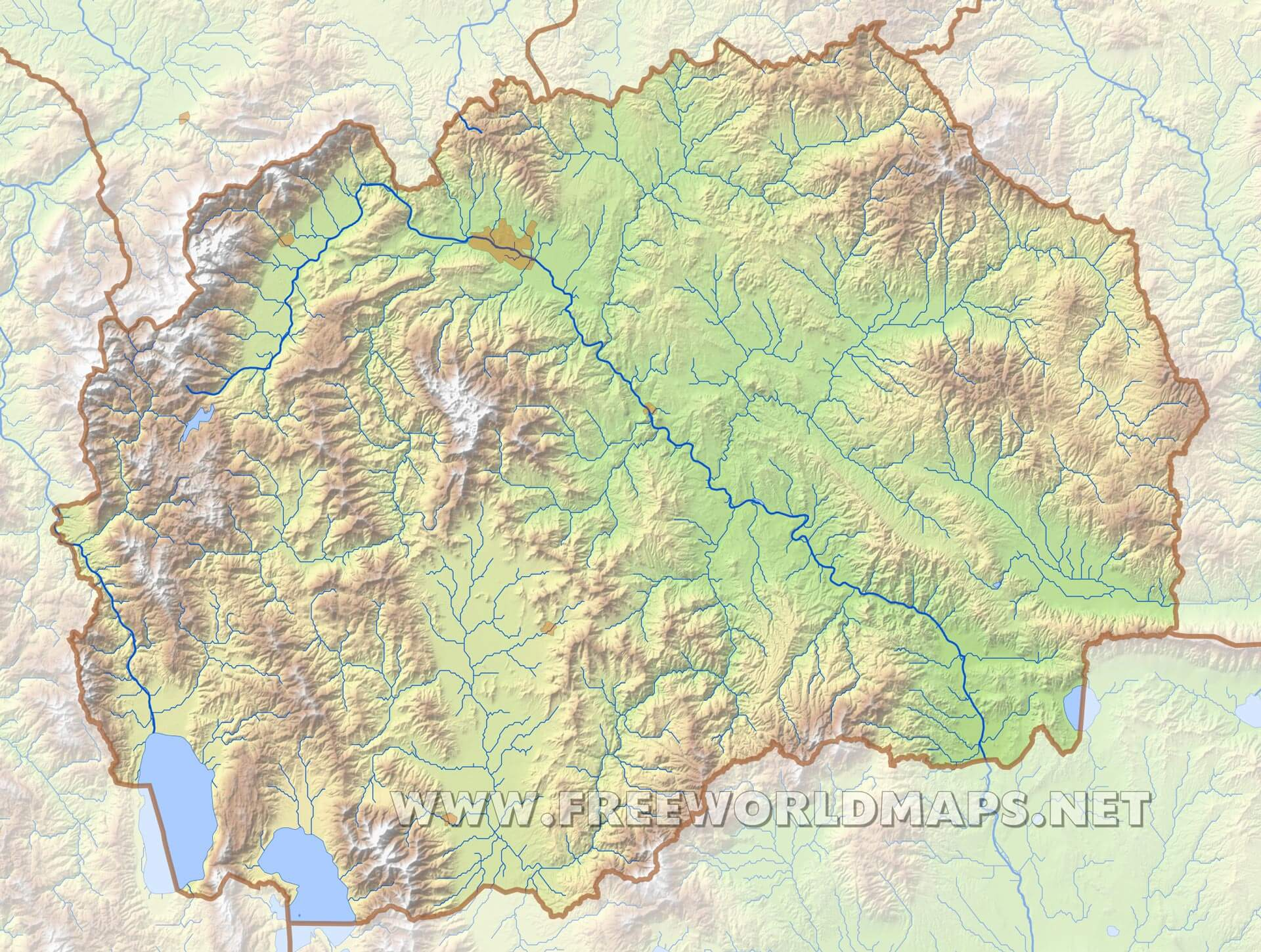United States Physical Map Physical Map Of Alaska Physical Map - Map us mountain ranges
