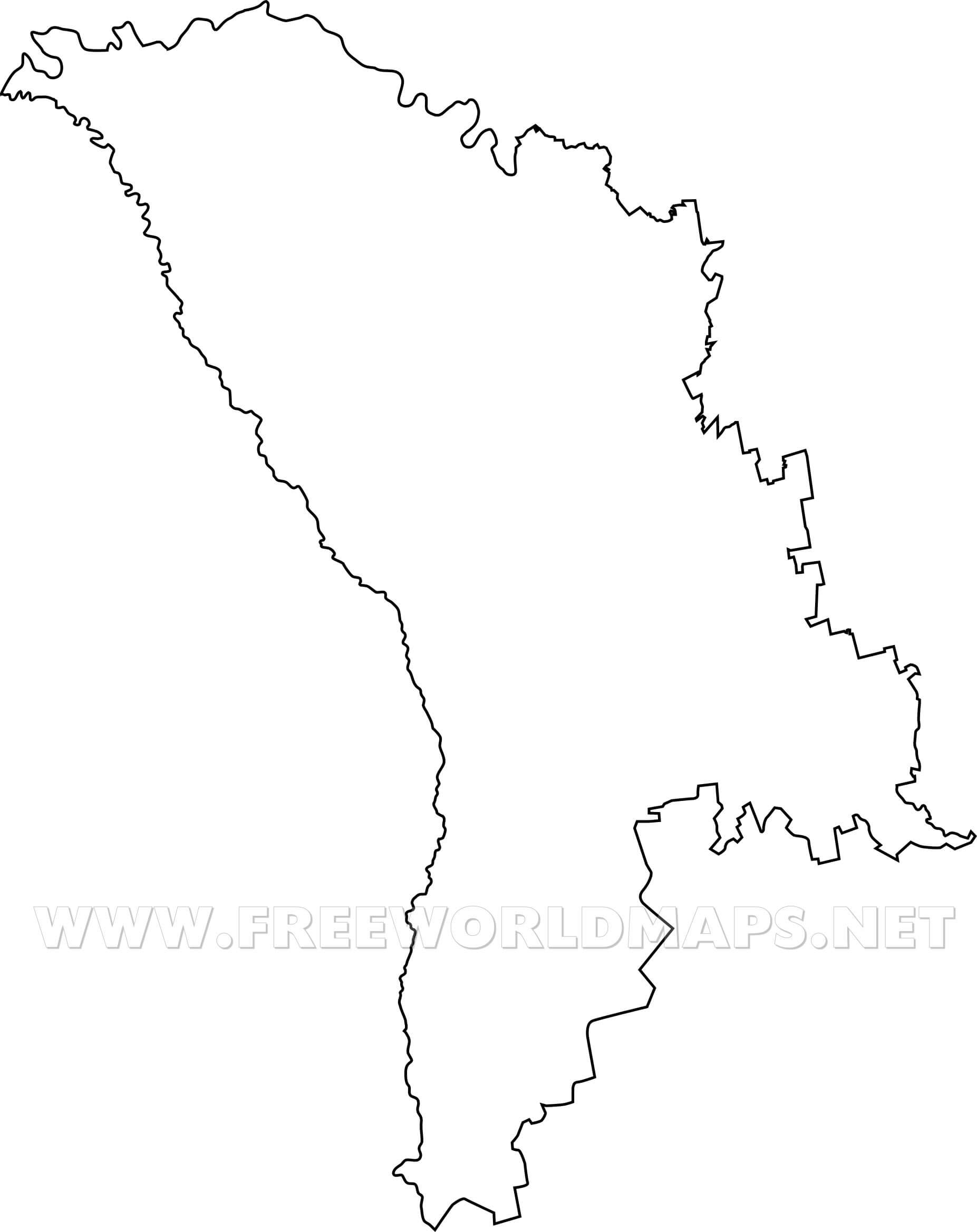 Moldova Maps By Freeworldmapsnet - Moldova map