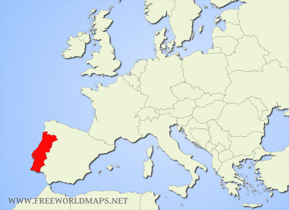 Where Is Portugal Located On The World Map