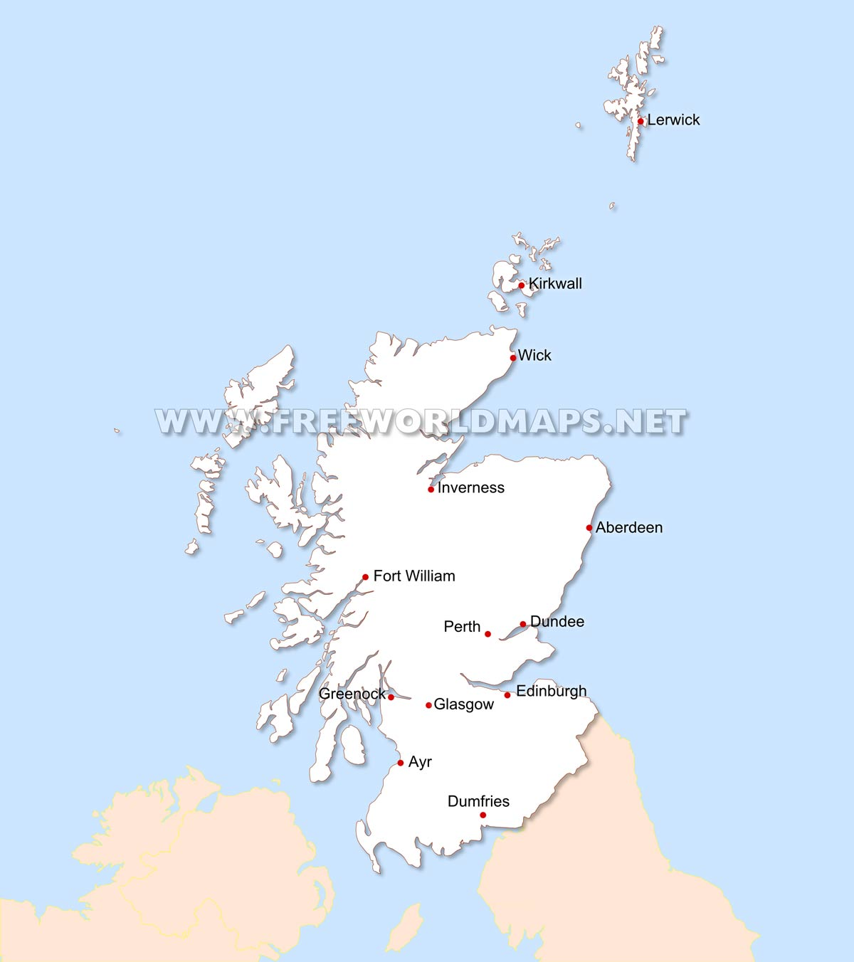 100 Map Scotland Map 1 Scotland Mccutcheons From Donaghadee Animal Map