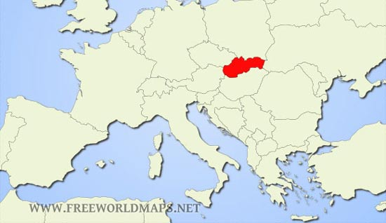 Slovakia Maps - by Freeworldmaps.net