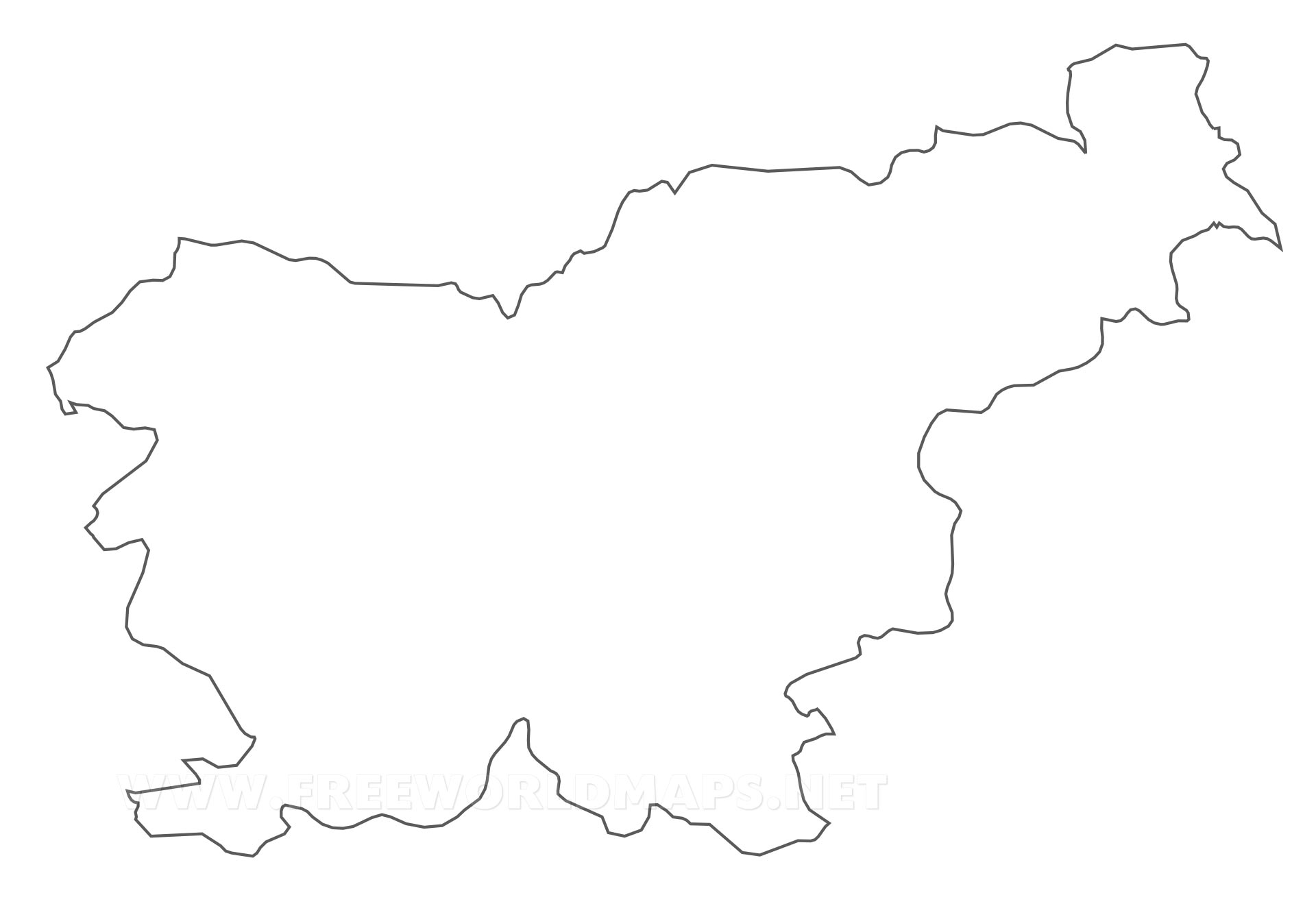Slovenia Political Map - Slovenia map hd
