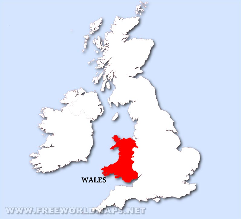 Wales Maps By Freeworldmapsnet - Where is wales