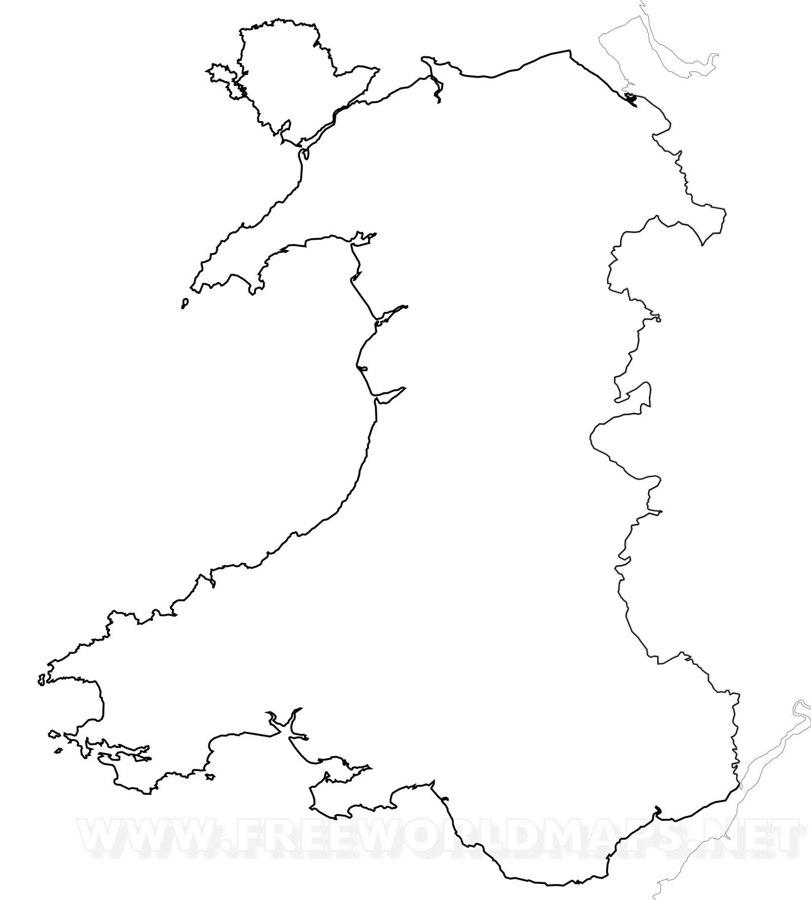 wales maps by freeworldmaps net