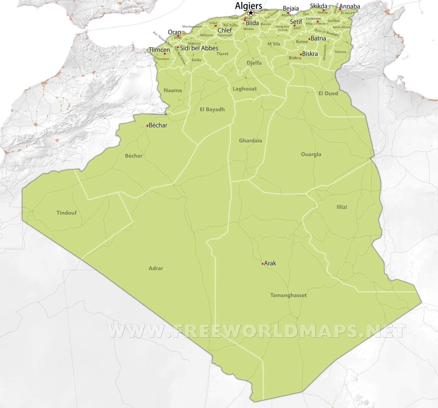 Grande Ville Afrique Du Nord