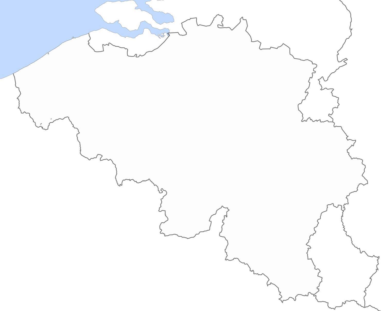 Carte Belgique Enseignement.Carte Geographique Muette Belgique Sicilfly