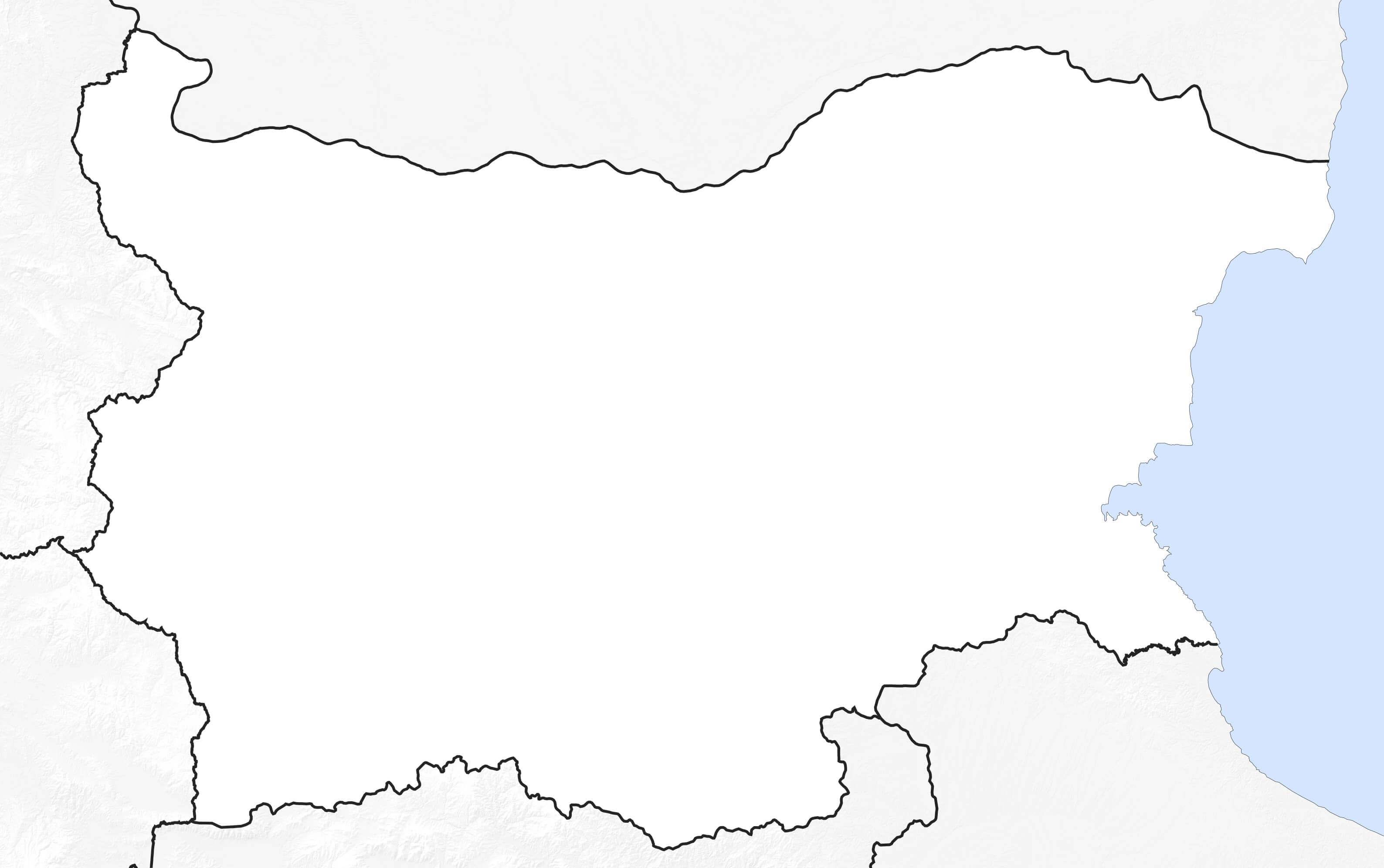 Carte De Bulgarie