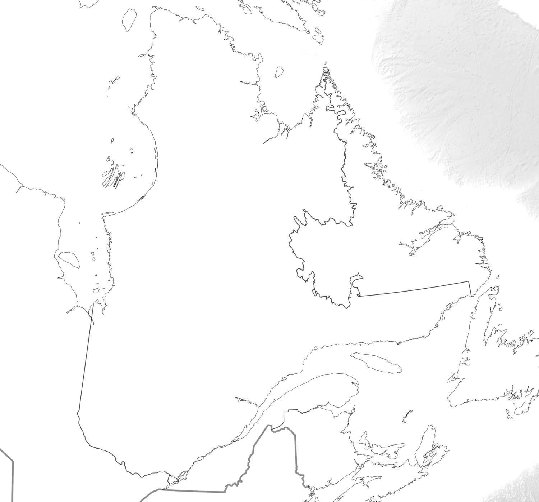 Carte Canada Vierge Imprimer.Carte Du Quebec