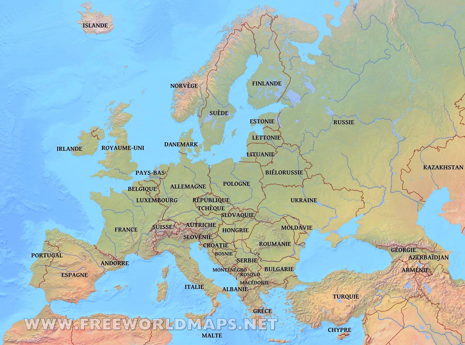 Carte De Leurope Jeux Educatifs.Carte D Europe Jeux