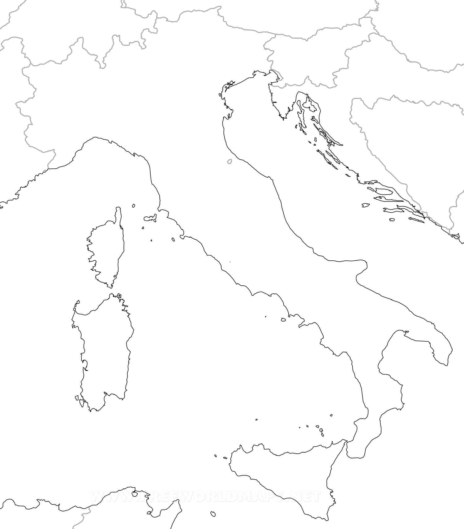 Carte Muette Bresil.Carte Vierge Italie Sicilfly