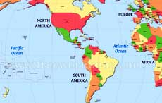 Free World Maps Atlas Of The World - Map wold