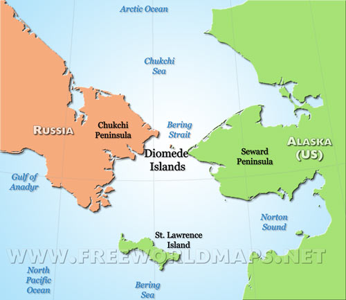 Diomede islands map gumiabroncs Image collections