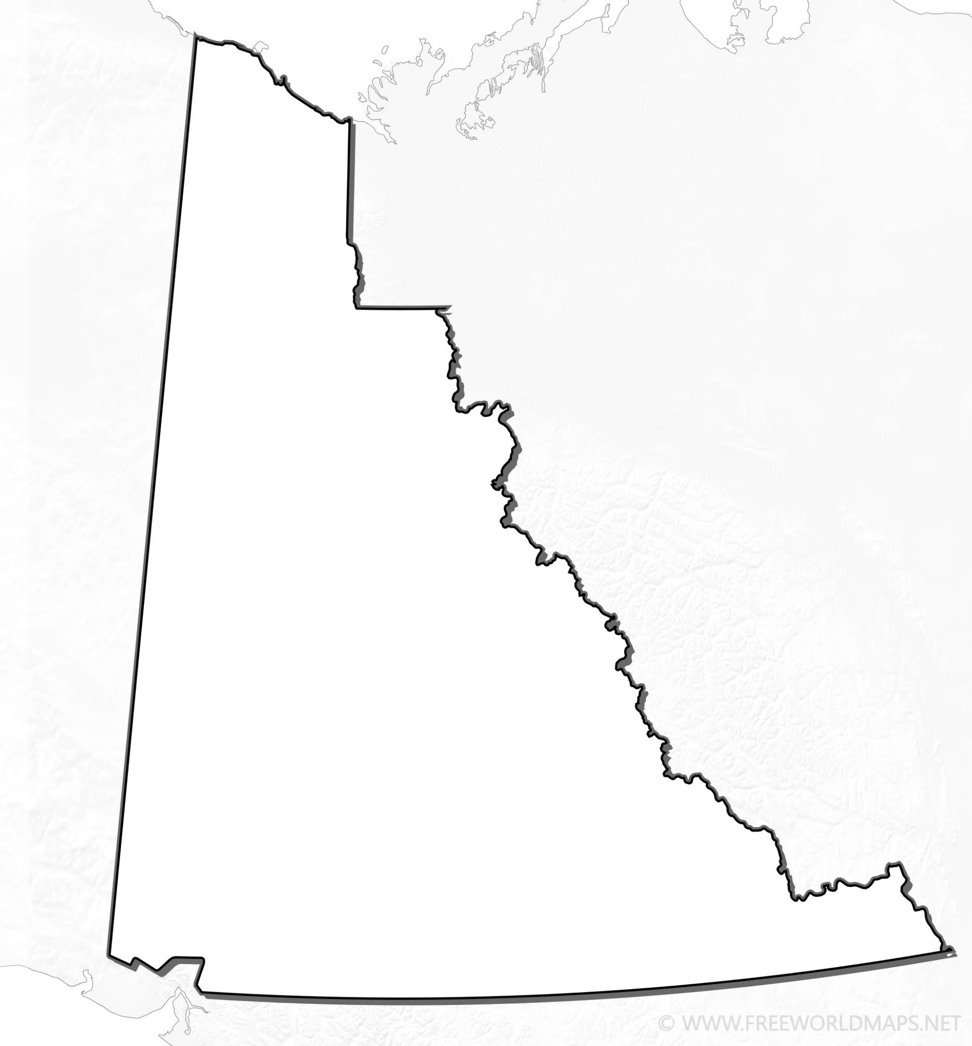 Yukon Maps - Yukon map