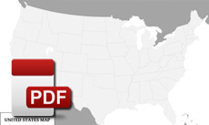 PDF maps of United States