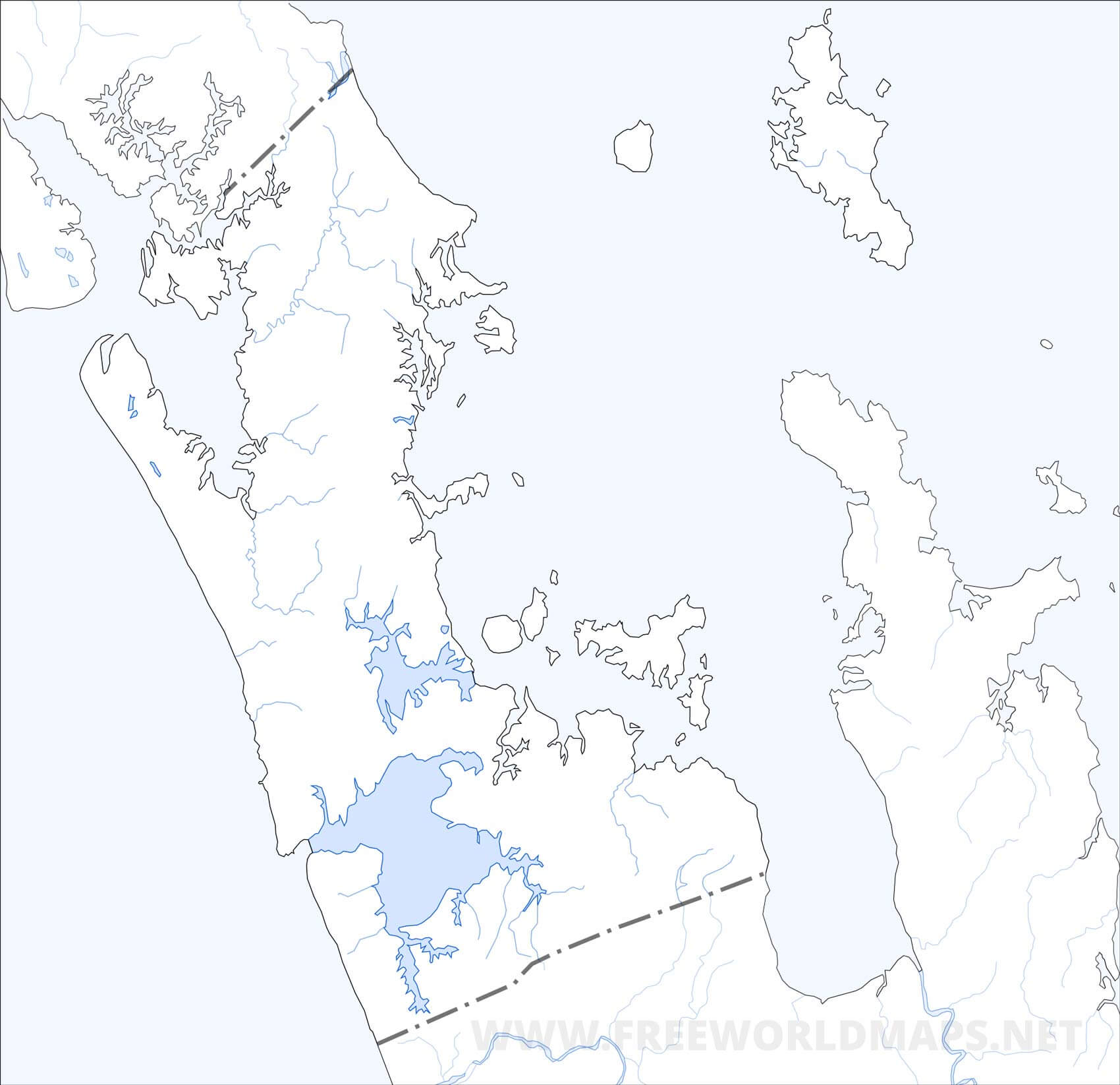 Auckland Region Maps Nz